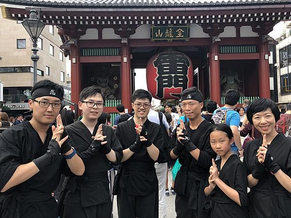 忍者體驗 in 東京