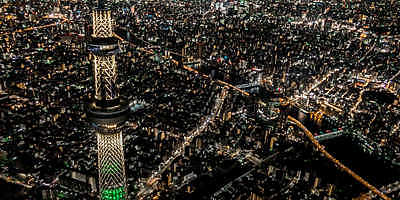 A 45-minute helicopter ride from Yokohama to Tokyo's city center to enjoy the nighttime view of the city's most luxurious skyline.