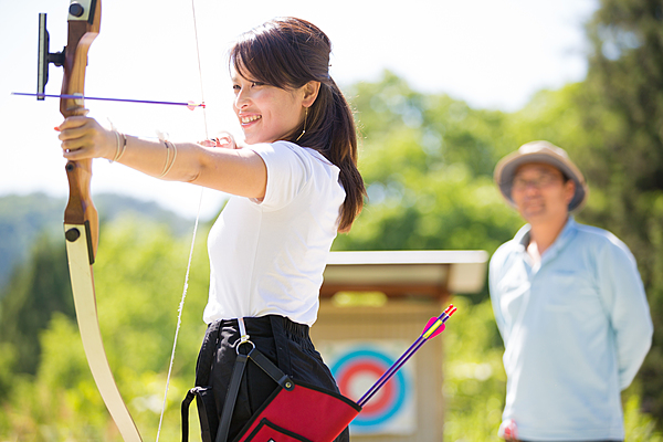 Beginners Course: Field Archery Experience in the woods