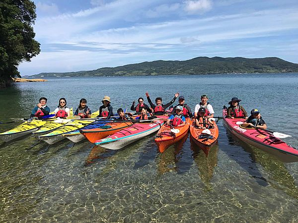 [1 full day] Plenty of fun and authentic. Let's enjoy Yuya Bay by sea kayak! ★Lunch included