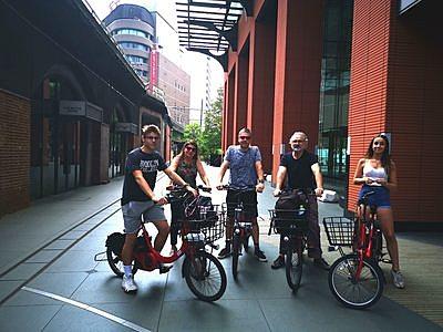Akihabara Anime and Nature e-bike tour
