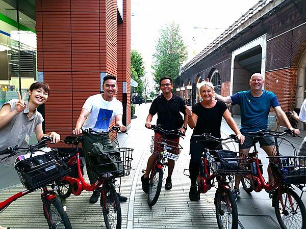3小時E-Bike東京單車之旅&在銀座享用神戶牛午餐