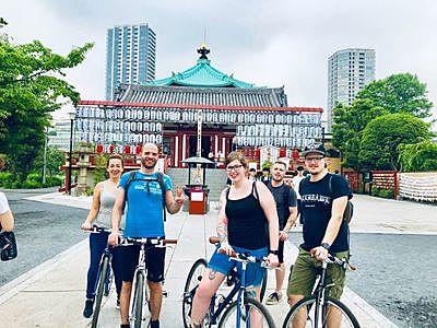 3-Hour Tokyo Bicycle Tour to Sky Tree, Asakusa and Ueno