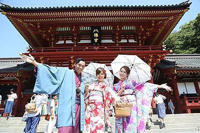 【鐮倉店】鐮倉和服體驗!