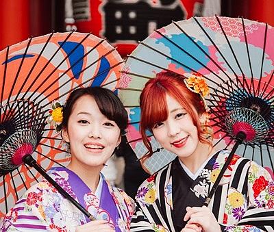[Tokyo Asakusa Shop] Rent Kimono at Asakusa!