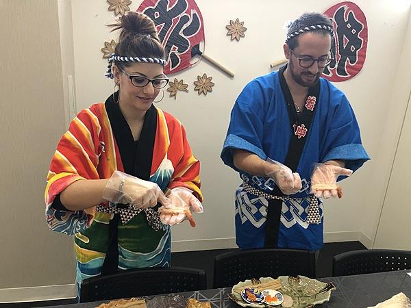 Making Sushi Enjoy Class Kyoto