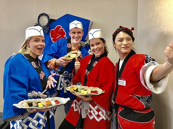 Making Sushi Rasshai Class Kyoto