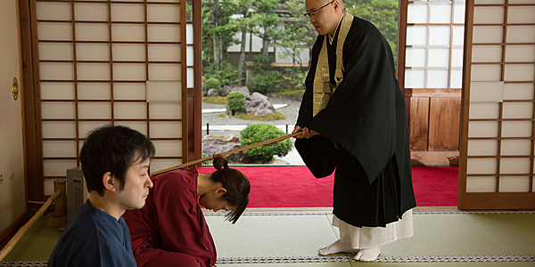 [Kinosaki Onsen] Zazen Meditation at Gokuraku-ji Temple