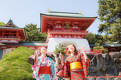Summer Kimono Rental and Experience at Shimonseki