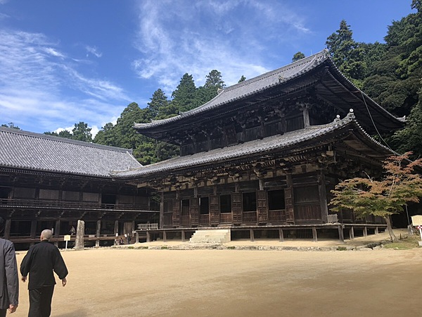 """Buddhistic Austerities Practice Experience at the temple where a movie, """"The Last Samurai"""" was filmed"""