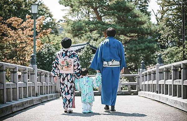 【金澤兼六園店‗兒童方案】金澤和服體驗!小朋友也能穿著和服享受觀光樂趣