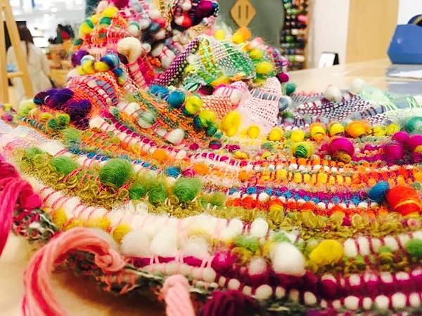Create your own in Saori weaving workshop