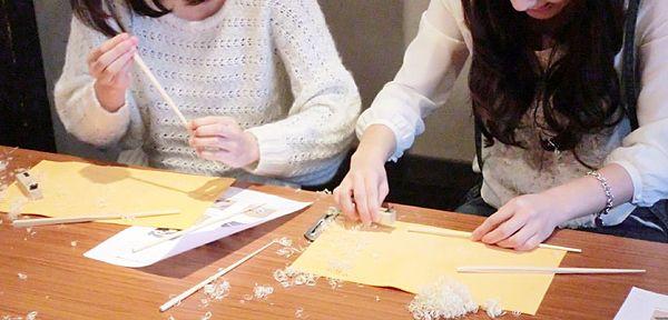 Chopsticks & Kyo-Yuzen chopsticks making workshop