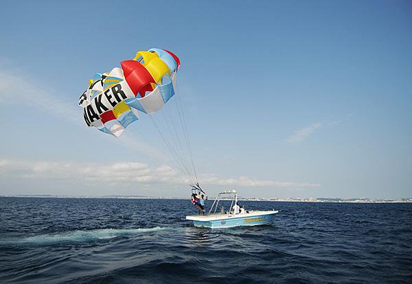【1100日圓折扣優惠◇12歲或以上即可報名參加】青之洞窟潛水&海上滑翔傘