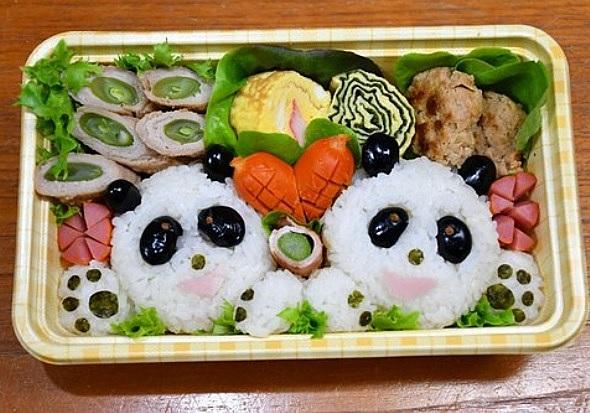 "Cute Bento! Experience making ""character bento"""