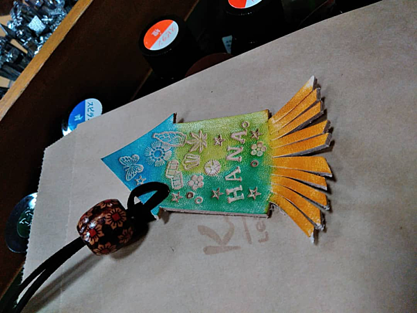"""A Hakodate-only Experience! Make a """"Squid charm"""" as a souvenir! Leather crafting experience."""