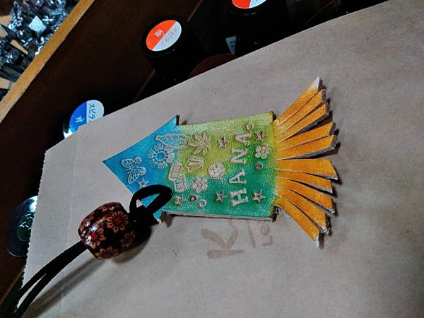 函館限定!製作「墨魚吊飾」手信!皮革手工藝體驗