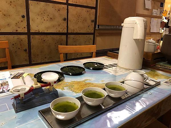 Tea tasting and tea blending in Hakodate, the Silk Road of Japanese tea