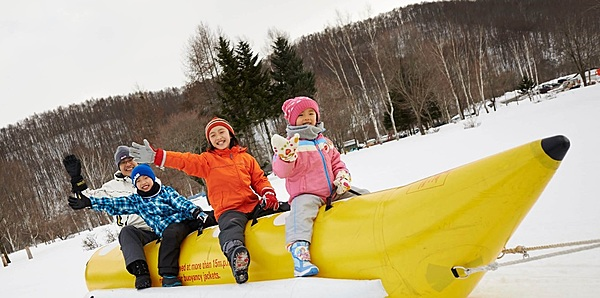 All-you-can-play snow activities that everyone can enjoy (including hot spring bath)