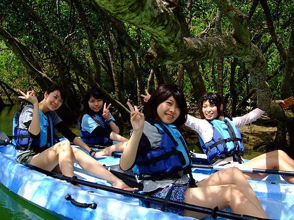 比謝川紅樹林皮划艇遊覽之旅