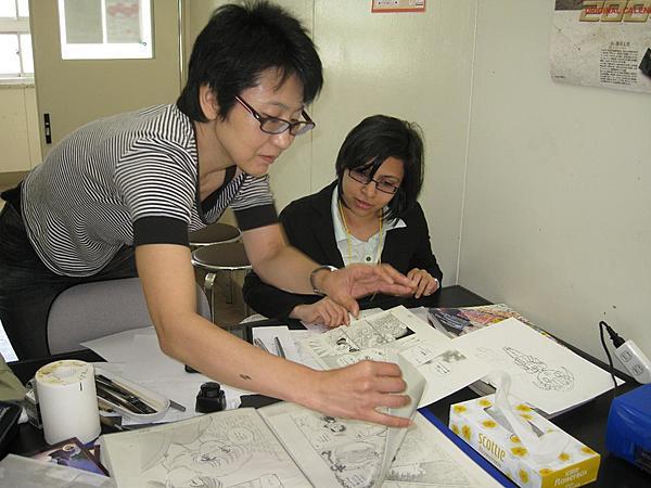 Manga Drawing Lesson in English