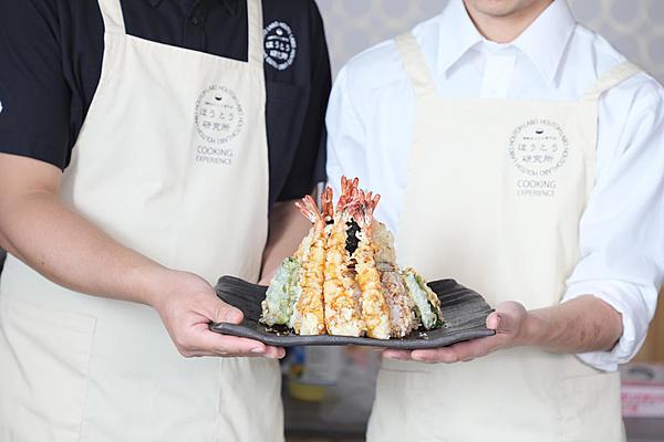 """天婦羅職人直接傳授 份量滿滿""""富士山天丼""""的製作體驗"""
