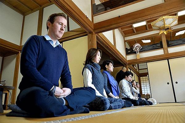 於鎌倉禪寺 體驗禪藝術、禪的哲學、坐禪