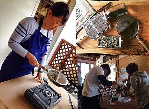 在輕井澤的新鮮空氣中,製作世界獨一無二的咖啡
