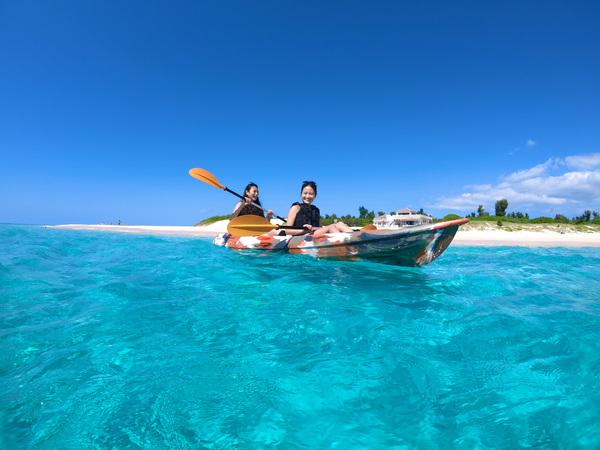 【宮古島】可以欣賞絕景的1日組合,體驗SUP立式單槳or加式獨木舟&南瓜鐘乳石洞窟探險