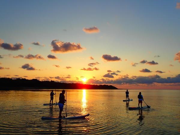 【石垣島】迎接早晨的感動瞬間!「日出」SUP立式槳板or加式獨木舟之旅