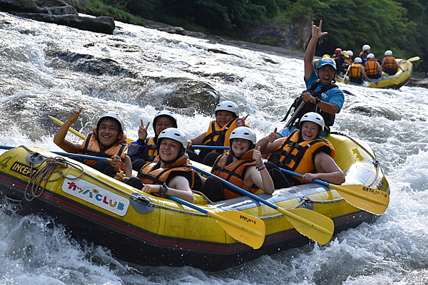 A Half-Day Rafting Course