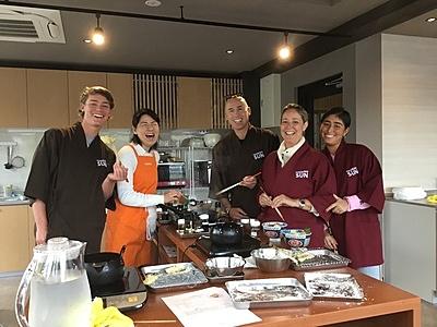 Bento making cooking class
