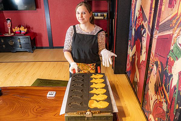 淺草鯛魚燒體驗