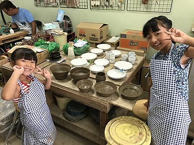 Electric Pottery Wheel Experience, Each Person Makes Two Pieces!