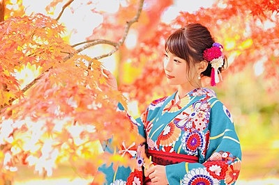 在夢京都換上美麗的和服漫遊京都!【祇園店】 自由挑選和服、漫步觀光勝地