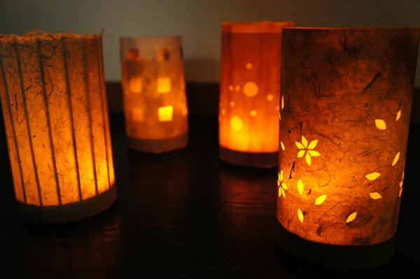 挑選喜愛的和紙打造原創和紙燈籠!