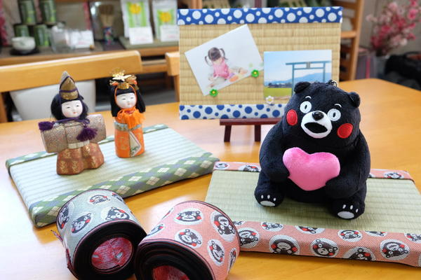 在日本燈心草生產量第一的「八代」製作迷你榻榻米♪『附飲料&燈心草冰淇淋♪』1人方案