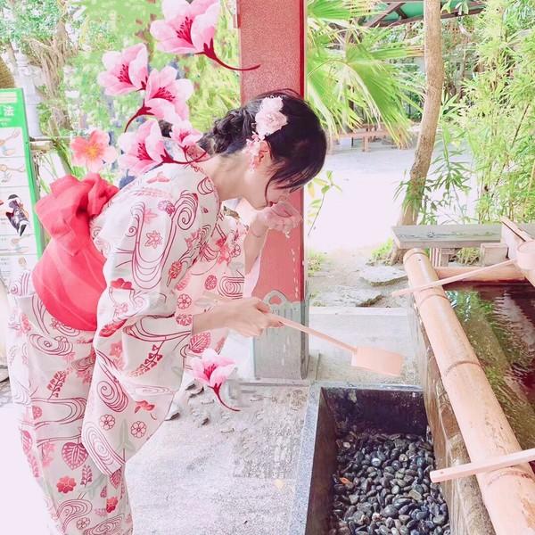 【穿上和服留下沖繩、那霸的美好回憶】兩手空空輕鬆租借和服、浴衣