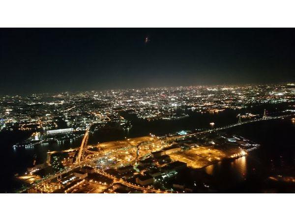【土日祝限定】ヘリコプター夜景フライト~5分間特別な空間を満喫~ (KINGコース)