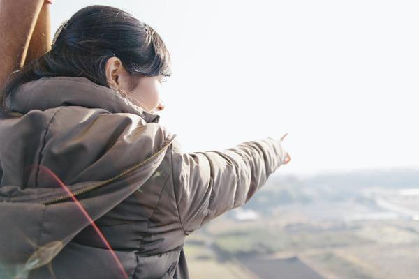 【平日】初めてでも安心!組み立てからできる熱気球搭乗体験