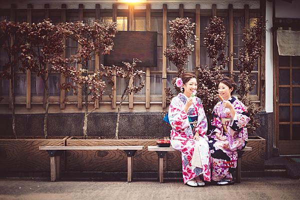 【鎌倉・和服租借】位於邊走邊吃打卡熱點的小町通心臟地帶